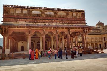 Circuit privé de 2jours à Jaipur au départ de Delhi: palais de...