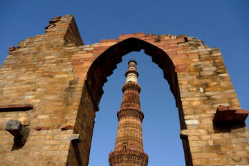 Delhi Self-Guided Tour with a GPS Enabled Audio and Video Guide and Private Transportation