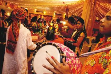 Evening Navaratri Celebration in Jaipur