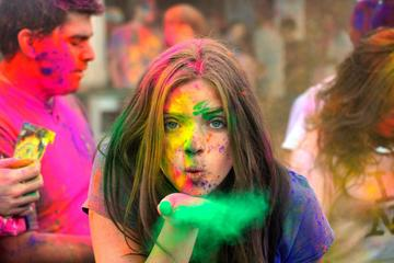 Jaipur Celebration of The Color Holi Festival Experience
