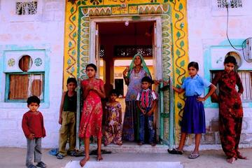 Kalakho Village Private Day Trip Including Rajasthani Lunch with Host...