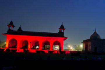 Red Fort Ton- und Licht-Vorstellung in Delhi mit Abendessen und...