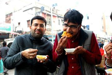 Ruta de desayuno por la vieja Delhi