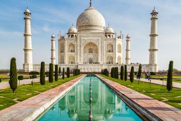 Tour privato: tour di un giorno ad Agra da Delhi, inclusi il Taj
