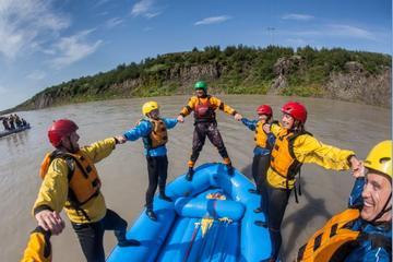 Gullfoss Canyon Rafting Adventure on Hvita River