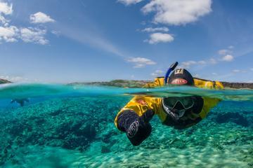 Snorkeling in Thingvellir National...