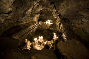 Spéléologie dans les grottes de Leidarendi avec transport, au départ...