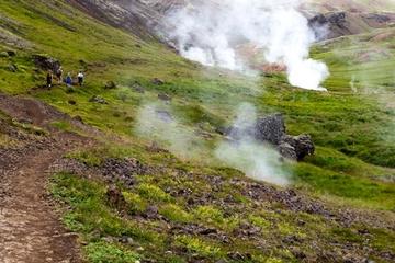 Tagesausflug ab Reykjavík: Wandern und heißes Quellenabenteuer in...
