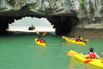 HALONG APRICOT 3 DAYS 2 NIGHTS VISITING TITOV AND AMAZING CAVE FULLY...