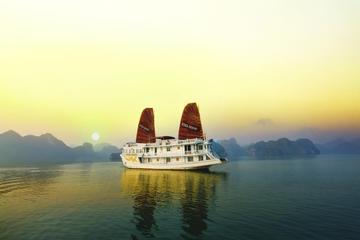 Halong Rosa Cruise 2 days 1 night visiting and kayaking Halong bay