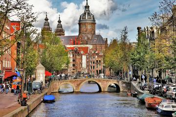 Recorrido privado durante la escala en Ámsterdam: Recorrido turístico...