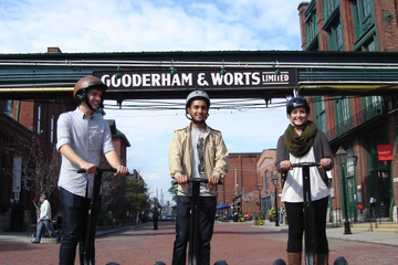 Recorrido en Segway por Distillery District en Toronto
