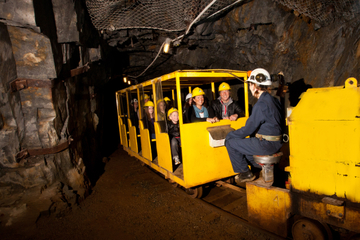 Eintritt in das Britannia Mine Museum