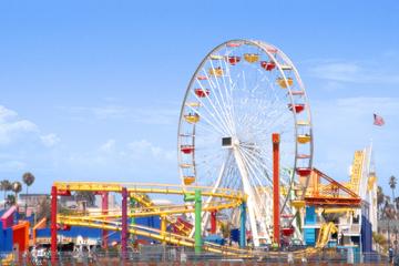 Ticket für den Pacific Park auf dem Santa Monica Pier