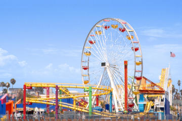 Day Trip Ticket to Pacific Park on the Santa Monica Pier near Santa Monica, California
