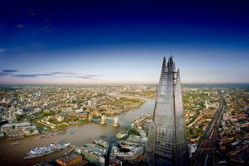 Ingresso normal para a vista do The Shard com champanhe opcional