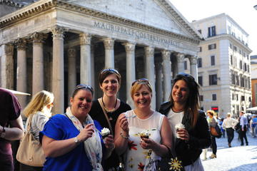 Visite gastronomique en petit groupe à Rome: expresso, glace et...