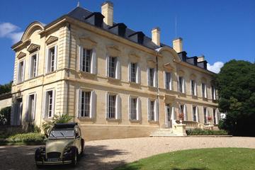 Excursão particular em balão de ar quente sobre as vinhas de Bordeaux