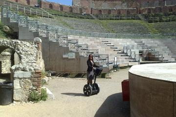 Excursion en bord de mer à Taormine: visite de la ville en Segway