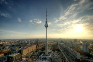 Zonder wachtrij: Berlijnse televisietoren inclusief champagneontbijt
