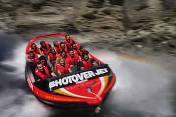 Shotover River Extreme Jet Boat Ride ab Queenstown