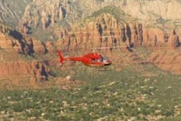 Passeio de helicóptero em Sedona: formações icônicas do Red Rock...