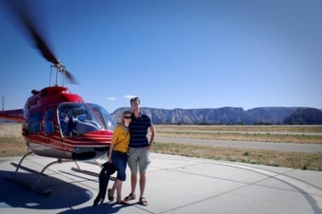 Tour en hélicoptère à Sedona: montagnes et monuments anciens