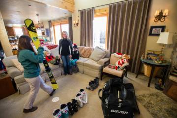 Day Trip Junior Ski Rental Package near Big Sky, Montana