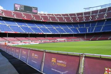 Tour no estádio de futebol Camp Nou de Barcelona a partir da Costa...