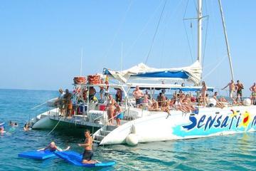 Festa no cruzeiro em Catamarã...