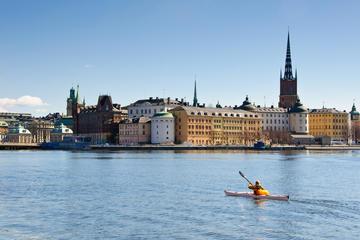 Besichtigungstour durch Stockholm mit dem Kajak