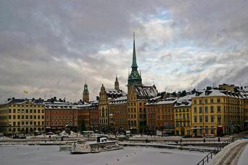 Excursão a pé pela região de Gamla Stan em Estocolmo