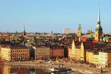 Visite à pied du Stockholm moderne