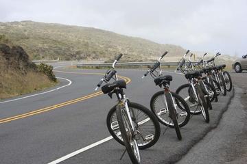 Fahrradtour und Seilrutschenabenteuer auf dem Haleakala auf Maui