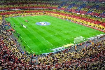 FC Barcelona-Spiel einschließlich privatem Hin- und Rücktransfer