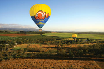 ケアンズからの日の出熱気球飛行