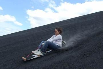 Cerro Negro Volcano Sandboarding Tour...