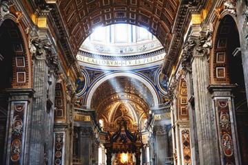 待ち時間なしで入場:音声ガイド付きサンピエトロ大聖堂