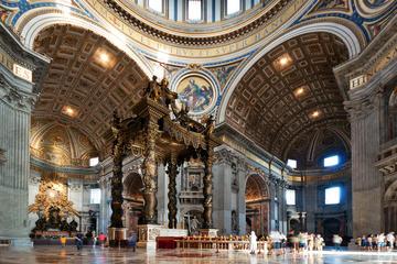 Accès coupe-file: visite guidée de la basilique Saint-Pierre