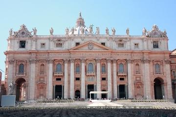 Keine Warteschlangen: Petersdom-Rundgang mit Blick von der Kuppel