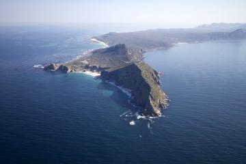 Vol en hélicoptère au Cap : Péninsule du cap, Cap de Bonne-Espérance...