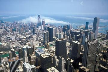 Chicago Air & Water Show from the Skydeck