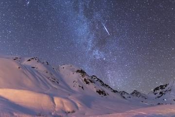 Aventura nocturna en Ushuaia: Paseo con raquetas, motonieve y trineo