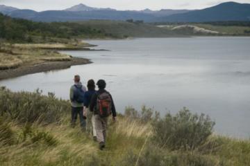 Escursione naturalistica nella Terra del Fuoco: canottaggio nel