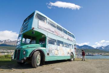 Excursão de ônibus de dois andares em Ushuaia