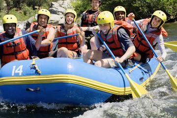 Excursión de rafting en aguas bravas...