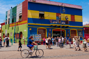 Excursión en bicicleta por Buenos Aires: Barrios de San Telmo y La...