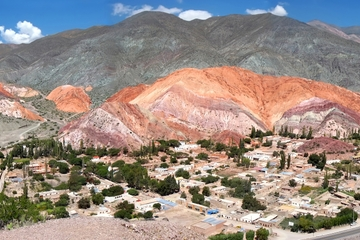 Excursion d'une journée à Quebrada de Humahuaca au départ de Salta...