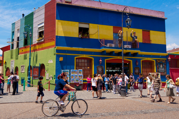 Passeio de bicicleta por Buenos...
