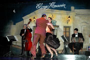Spectacle de tango El Viejo Almacen avec dîner en option
